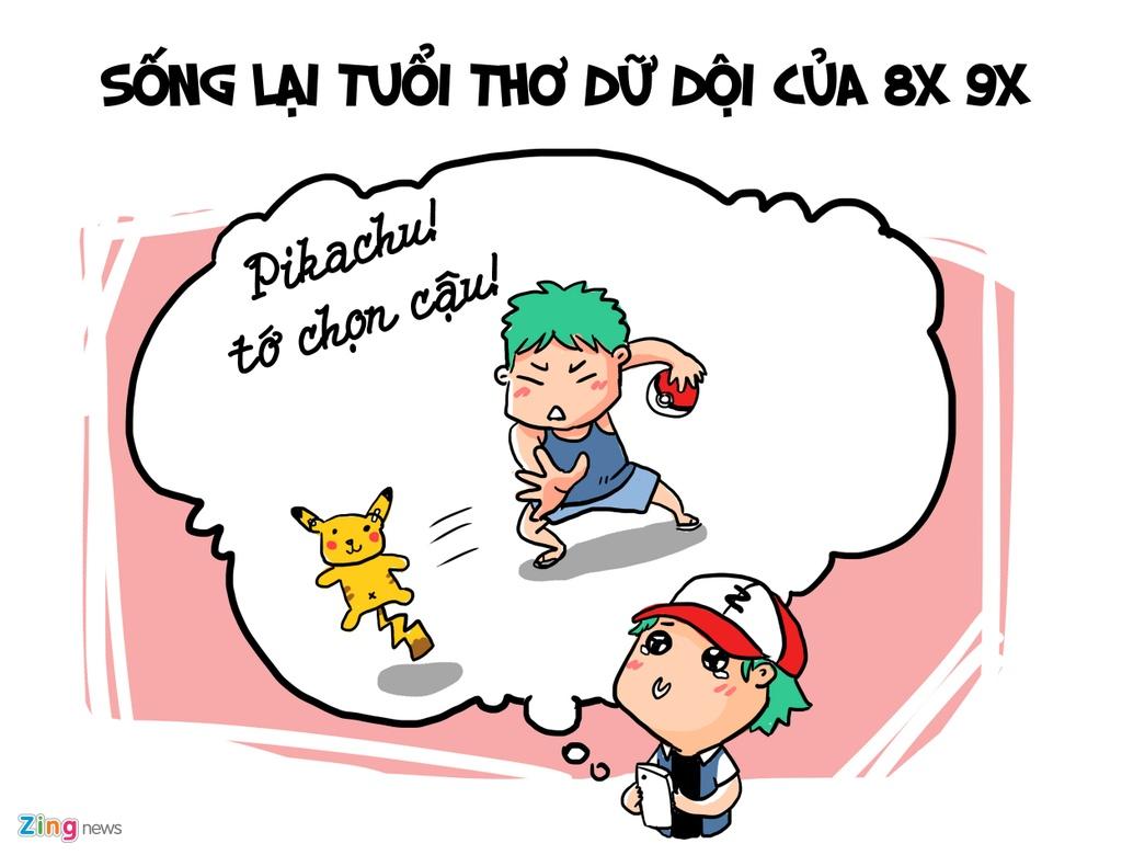 Hi hoa: Vi sao Pokemon Go gay nao loan toan the gioi? hinh anh 1