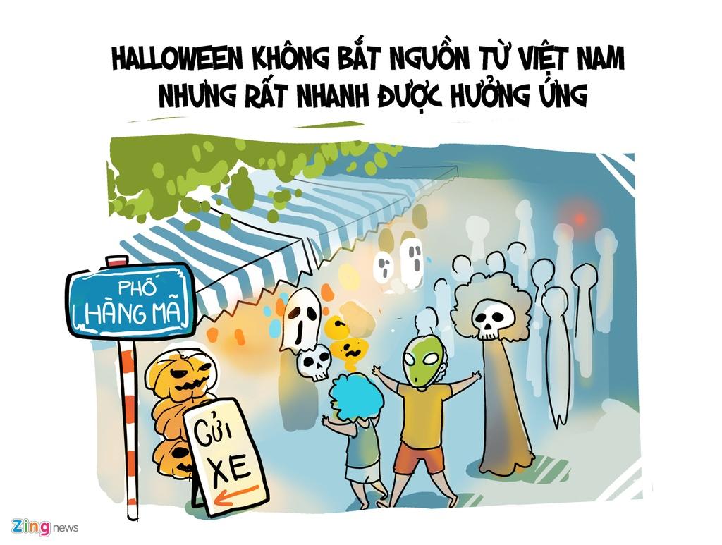 Gioi tre Viet thuong lam gi trong dip Halloween? hinh anh 1