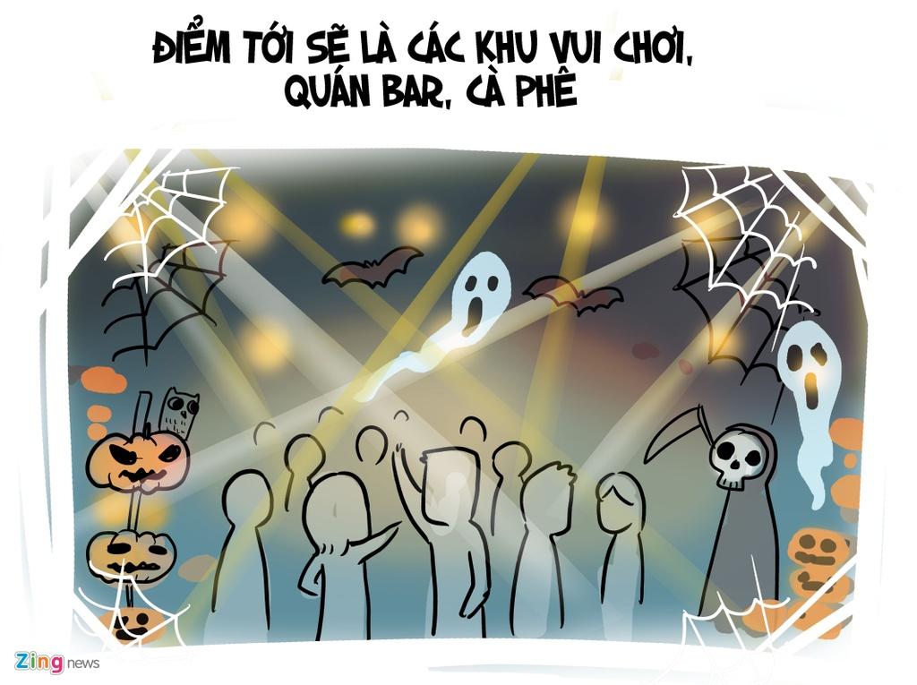 Gioi tre Viet thuong lam gi trong dip Halloween? hinh anh 5
