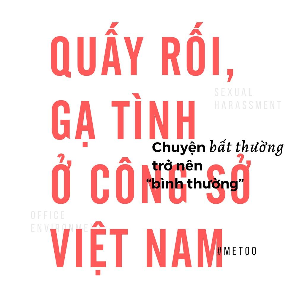 Quay roi o cong so Viet Nam: Chuyen bat thuong tro nen binh thuong hinh