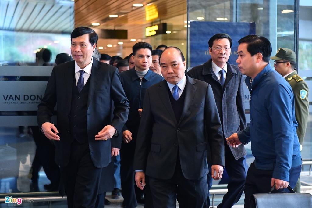 Cang hang khong Van Don don may bay cho Thu tuong hinh anh 8