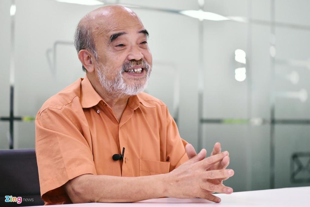 GS Dang Hung Vo: 'Thanh tra di lien voi Thank you' hinh anh 1