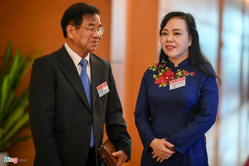 Bộ trưởng Nguyễn Thị Kim Tiến: 'Tôi chưa biết người kế nhiệm'