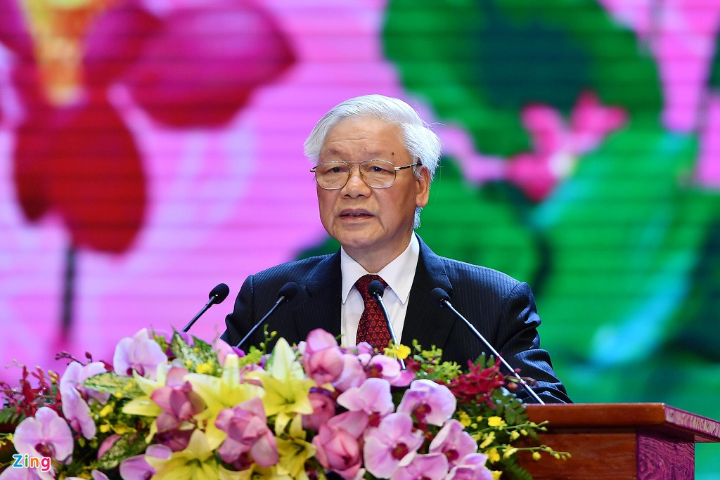 Tong bi thu: '79 mua Xuan cua Nguoi la bieu tuong cao dep nhat' hinh anh 1 tongbithu_zing.jpg