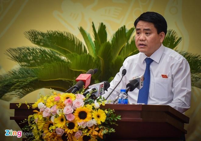 Chu tich Ha Noi noi nguyen nhan khien vu Rang Dong, song Duong 'nong' hinh anh 1