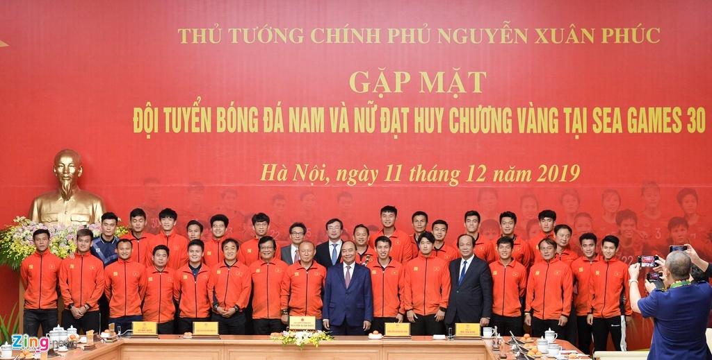 Thu tuong noi ve khat vong Viet Nam sau HCV bong da o SEA Games hinh anh 5