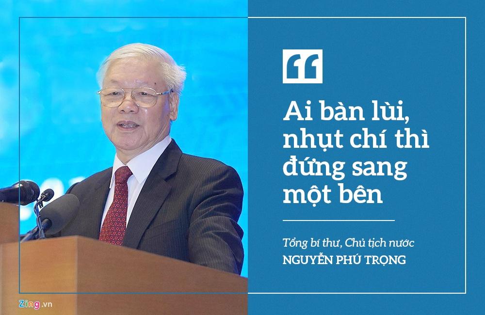 Phat ngon an tuong cua Tong bi thu, Thu tuong tai phien hop don 2020 hinh anh 1 1.jpg