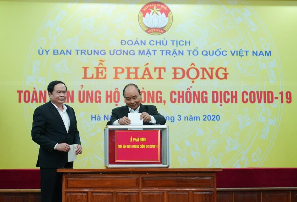 Thu tuong: 'Toi co niem tin Viet Nam se chan dung dai dich' hinh anh 1 NQH08307.jpg