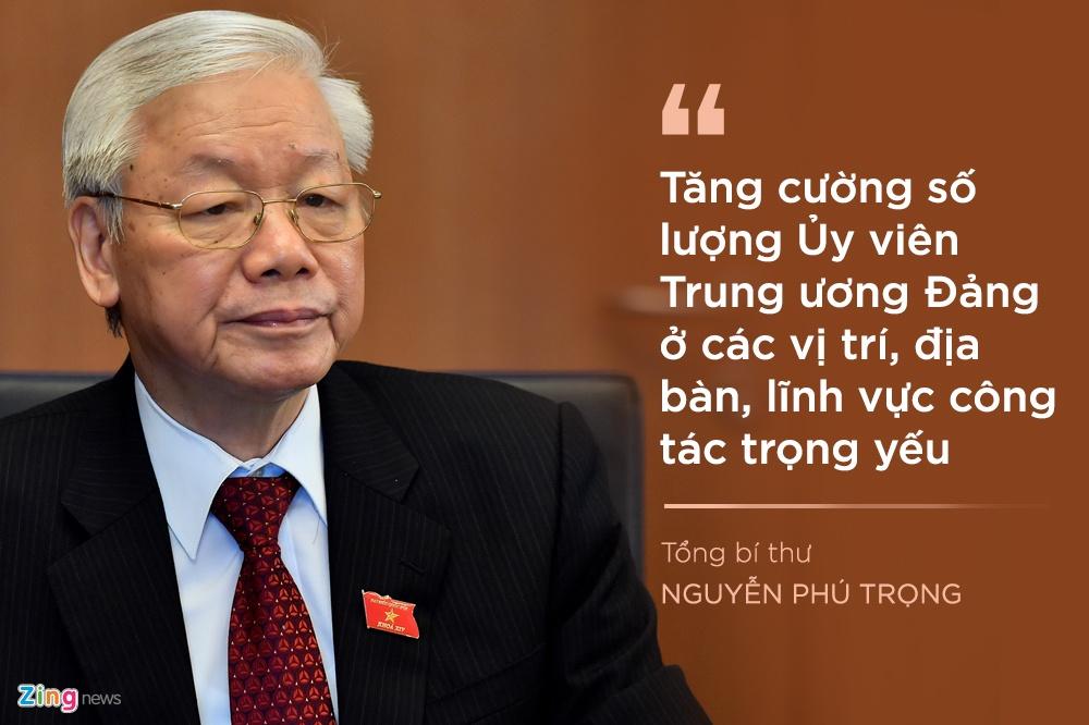 Tong bi thu luu y gi khi chon nhan su Trung uong khoa XIII? hinh anh 1 1_zing.jpg