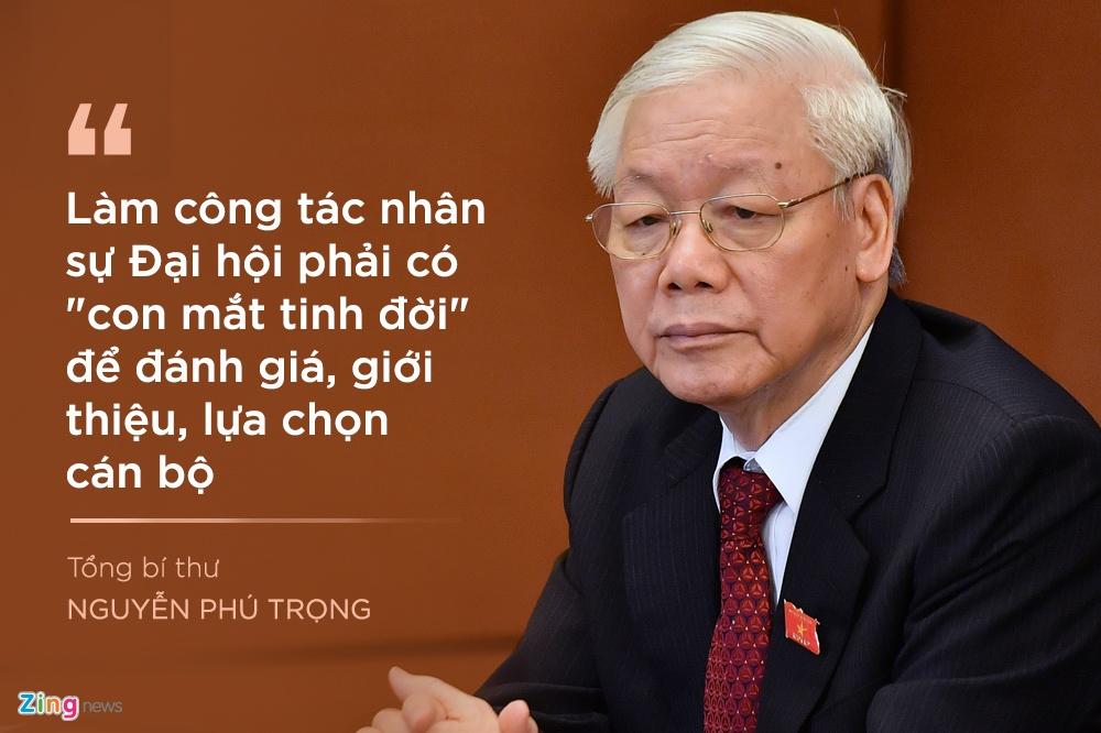 Tong bi thu luu y gi khi chon nhan su Trung uong khoa XIII? hinh anh 6 6_zing.jpg
