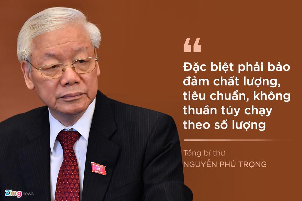 Tong bi thu luu y gi khi chon nhan su Trung uong khoa XIII? hinh anh 8 7_zingjpg.jpg