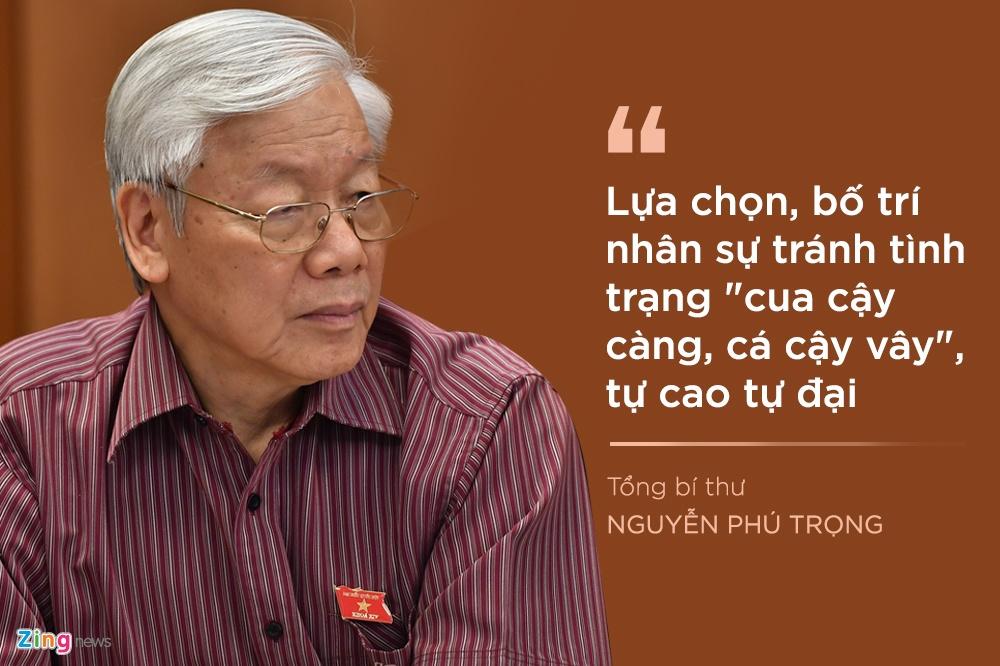 Tong bi thu luu y gi khi chon nhan su Trung uong khoa XIII? hinh anh 9 9_zing.jpg