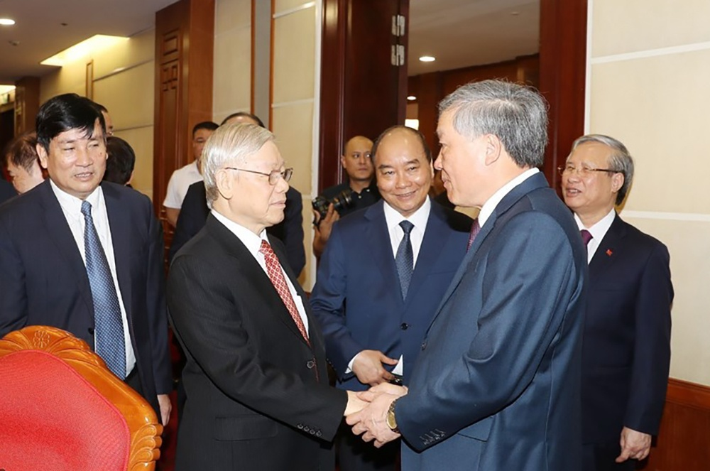 Tong bi thu: Ban chap hanh Trung uong phai la hat nhan lanh dao hinh anh 3 nhb.jpg