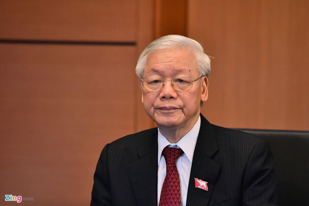 Tong bi thu,  Chu tich nuoc Nguyen Phu Trong anh 2