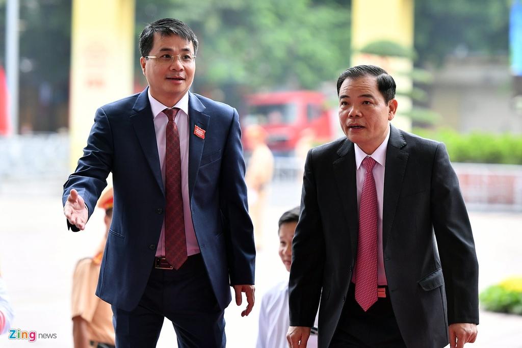 Tong bi thu,  Chu tich nuoc du Dai hoi Dang bo Ha Noi anh 17