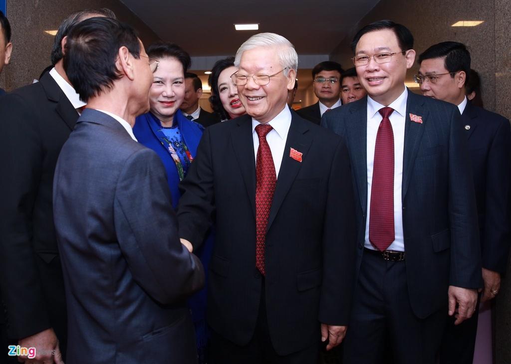 Tong bi thu,  Chu tich nuoc du Dai hoi Dang bo Ha Noi anh 2