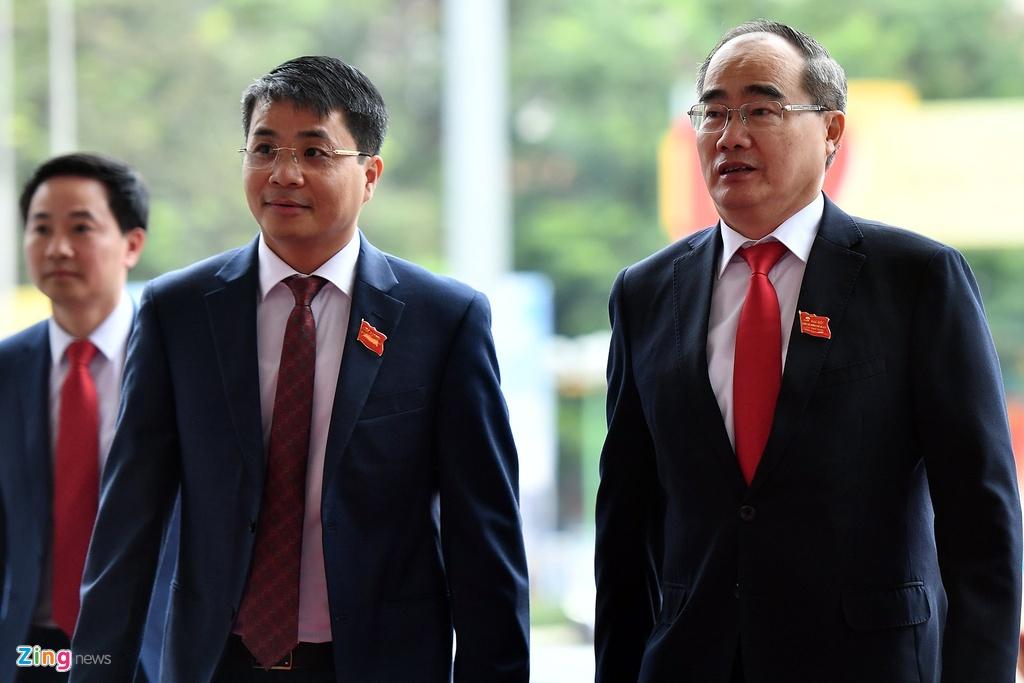 Tong bi thu,  Chu tich nuoc du Dai hoi Dang bo Ha Noi anh 6