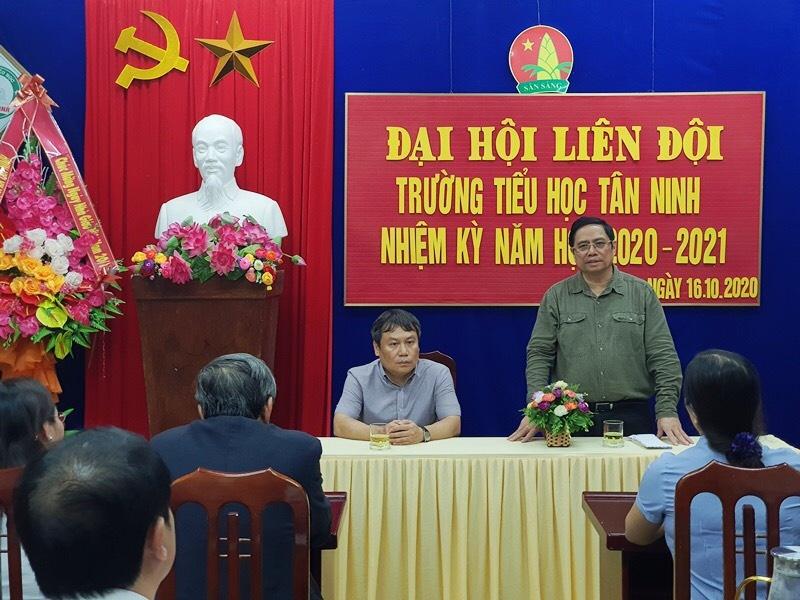 ong Pham Minh Chinh tham 3 tinh mien Trung anh 2