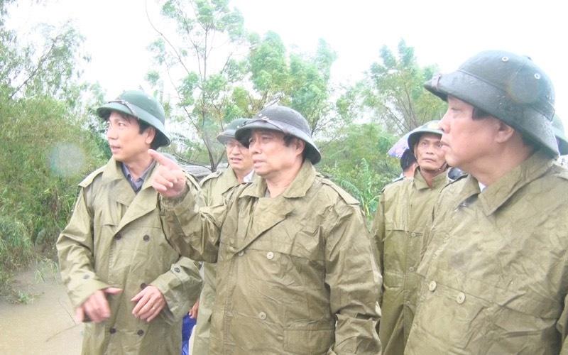 ong Pham Minh Chinh tham 3 tinh mien Trung anh 3