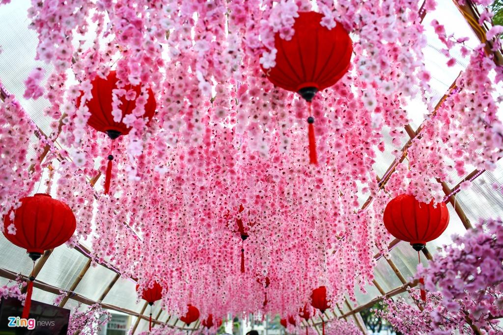 Hoi hoa xuan khu nha giau Phu My Hung hinh anh 9
