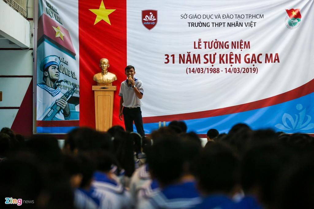 Hon 500 hoc sinh Sai Gon tuong niem su kien Gac Ma lich su hinh anh 4