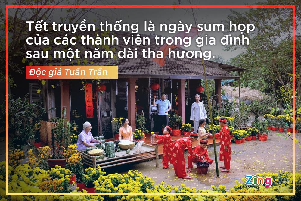 'Cai gi cung co the Tay hoa, tru Tet co truyen' hinh anh 2