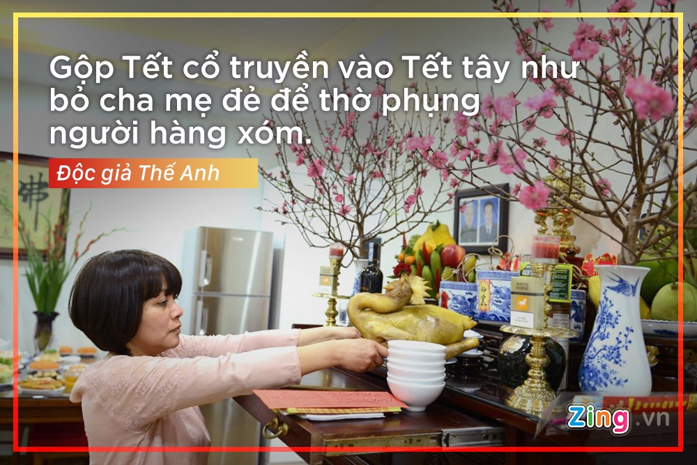 'Cai gi cung co the Tay hoa, tru Tet co truyen' hinh anh 7