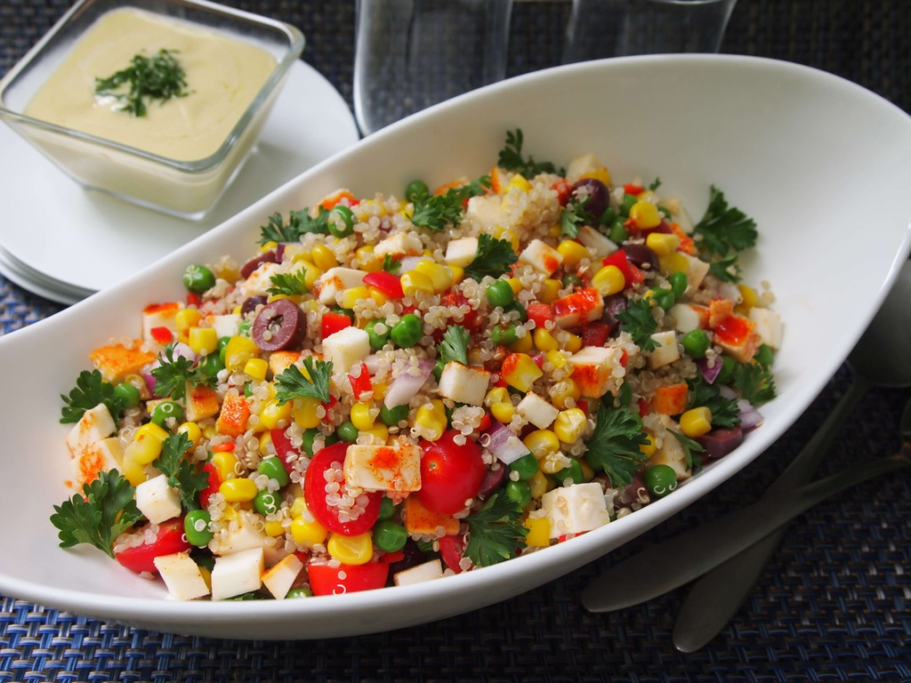 Mon salad o cac nuoc tren the gioi khac nhau the nao? hinh anh 6
