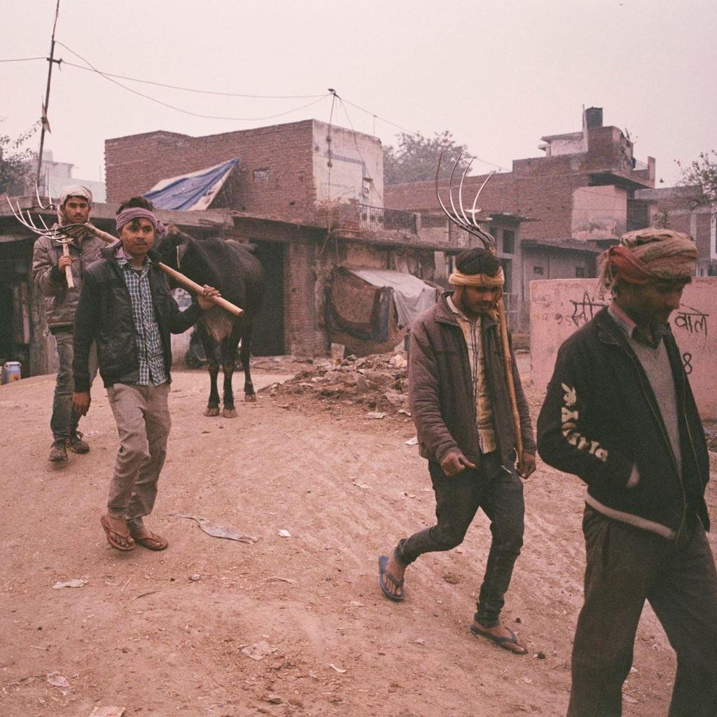 New Delhi mit mu trong o nhiem anh 2