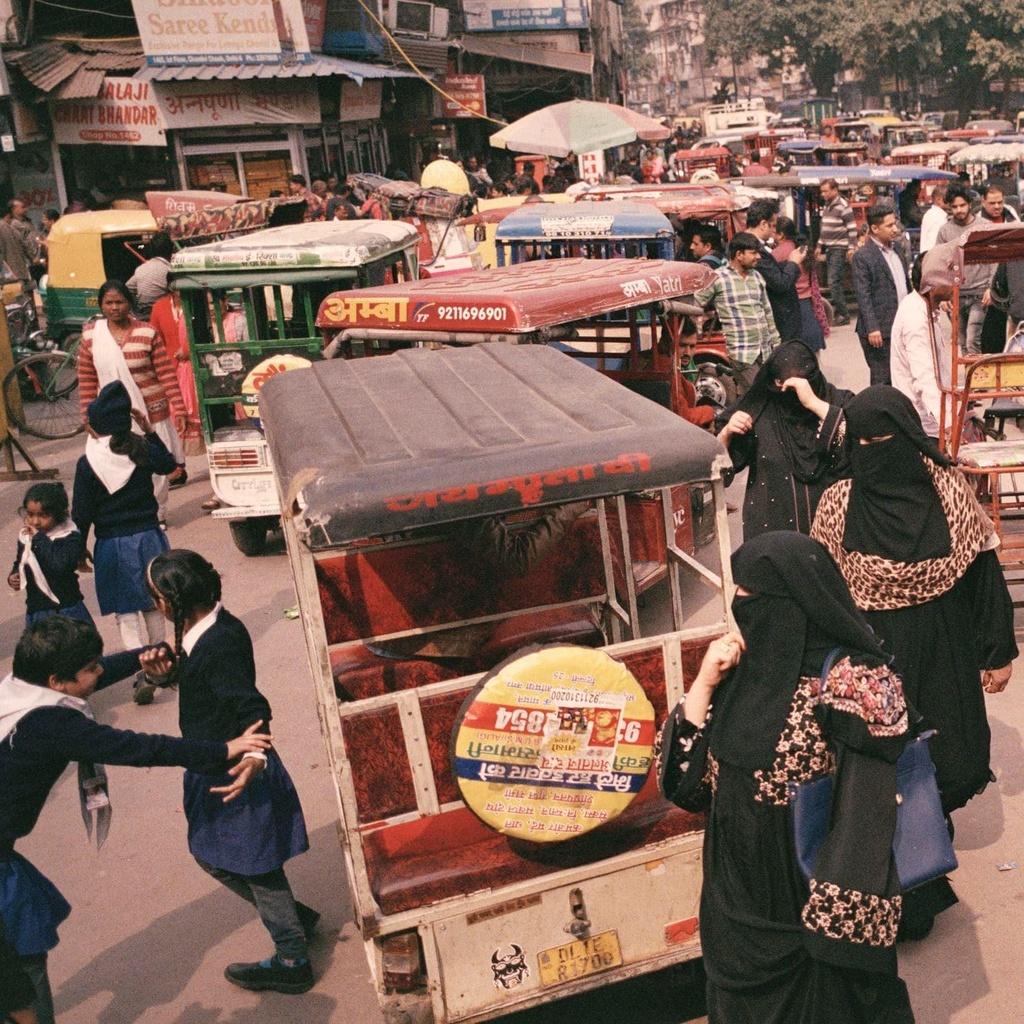 New Delhi mit mu trong o nhiem anh 6
