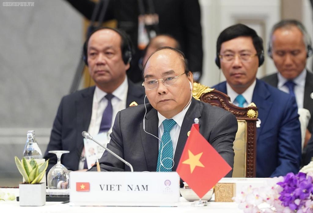 Thu tuong phat bieu tai hoi nghi ASEAN anh 1
