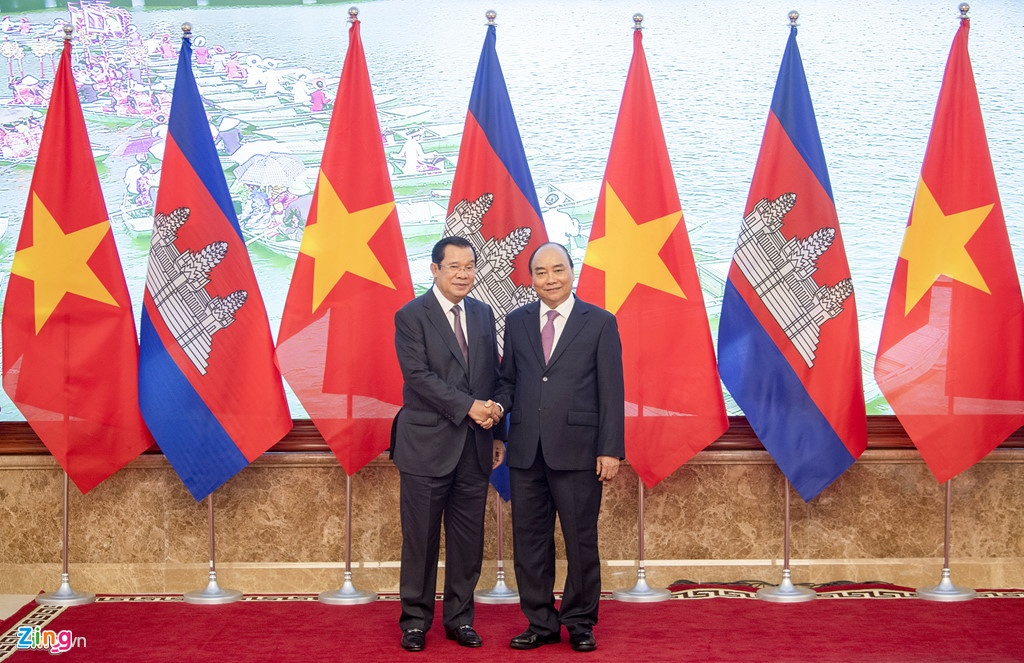 Tuyen bo chung Viet Nam - Campuchia anh 4