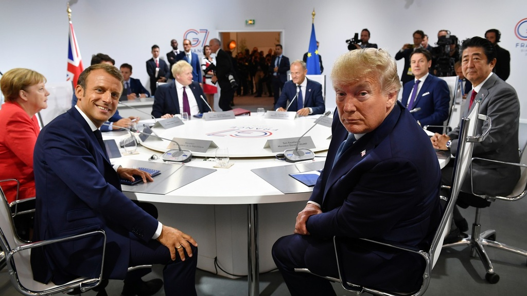 Trump lap nhom moi thay G7 anh 2