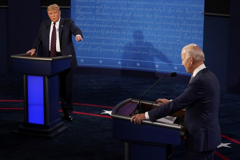 Trump Biden tranh luan anh 2