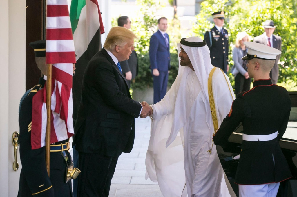 Thai tu quyen luc Mohammed bin Zayed anh 1