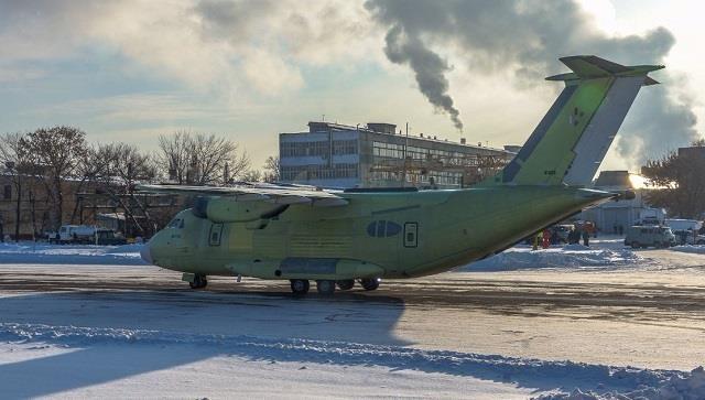 May bay van tai Il-112V moi cua Nga, chua bay da lac hau hinh anh 1