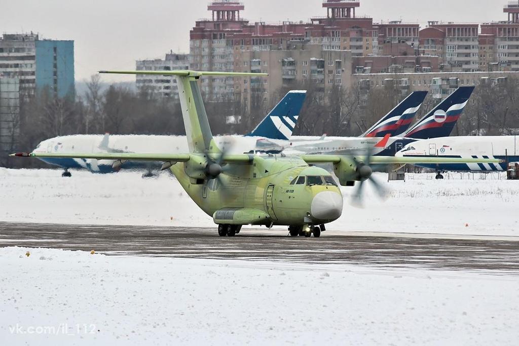 May bay van tai Il-112V moi cua Nga, chua bay da lac hau hinh anh 5