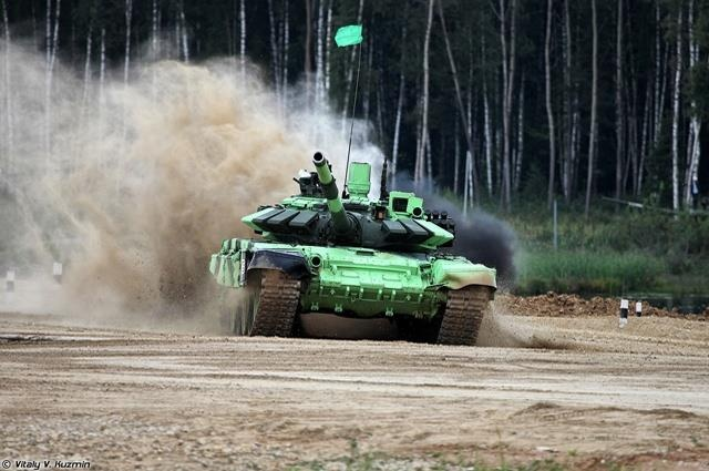 T-72B3, 'ngua chien' dung manh cua doi tang Viet Nam tai Tank Biathlon hinh anh 3