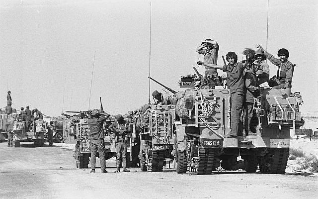 Yom Kippur 1973 - tran danh xe tang lon nhat hau The chien II hinh anh 1
