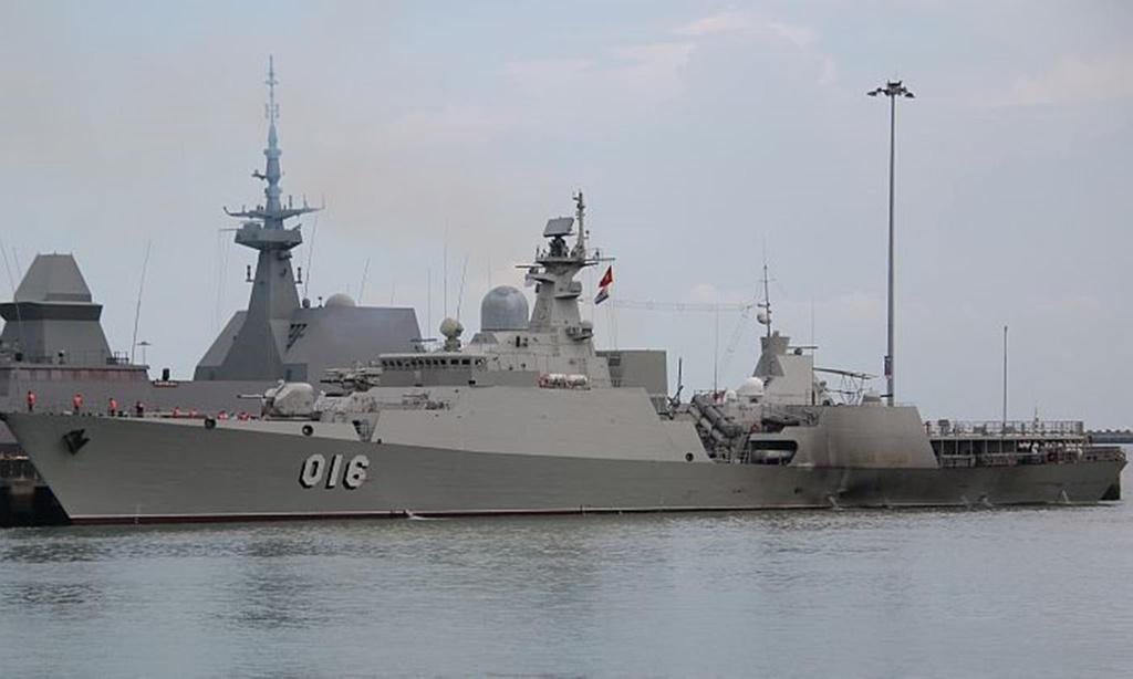 Tàu 016 Quang Trung - chiến hạm uy lực nhất của Việt Nam