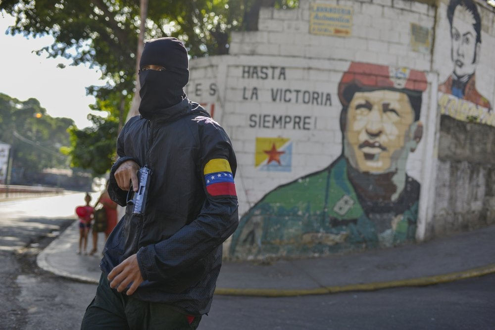 Bat on chinh tri o Venezuela anh 3