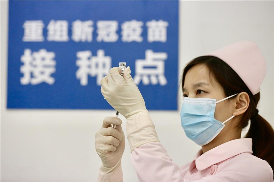 Nguoi tinh nguyen thu vaccine Covid-19 o Vu Han hinh anh 4 z_vaccine_4.jpeg