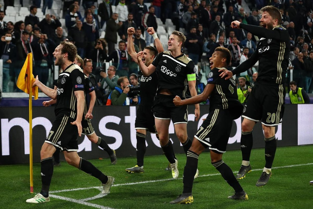 Ajax,  Champions League anh 1