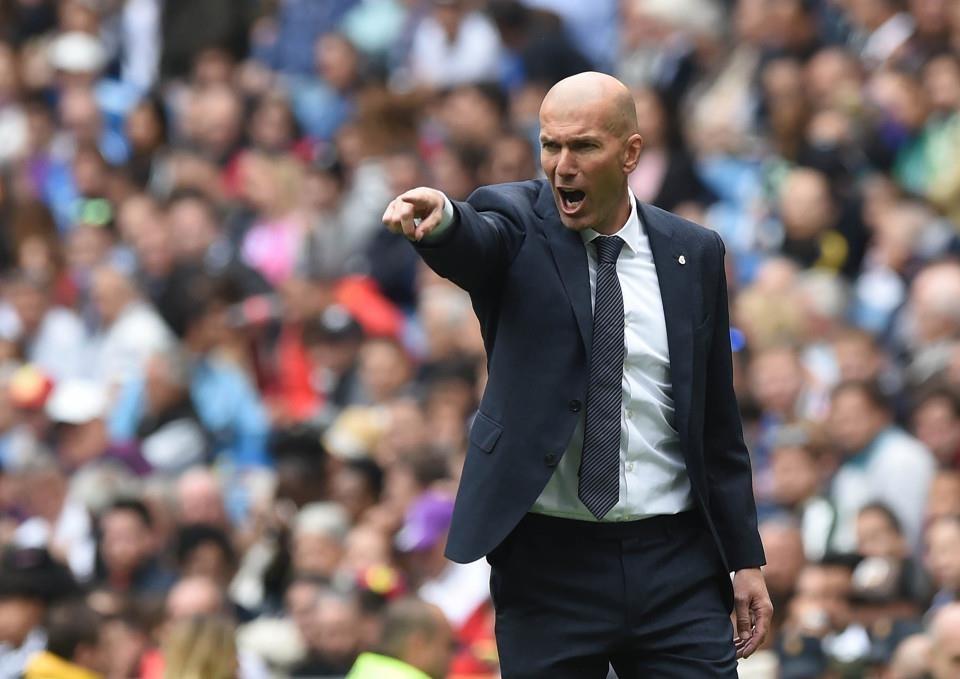 Zidane va nhung dau hieu that bai cung Real Madrid hinh anh 1