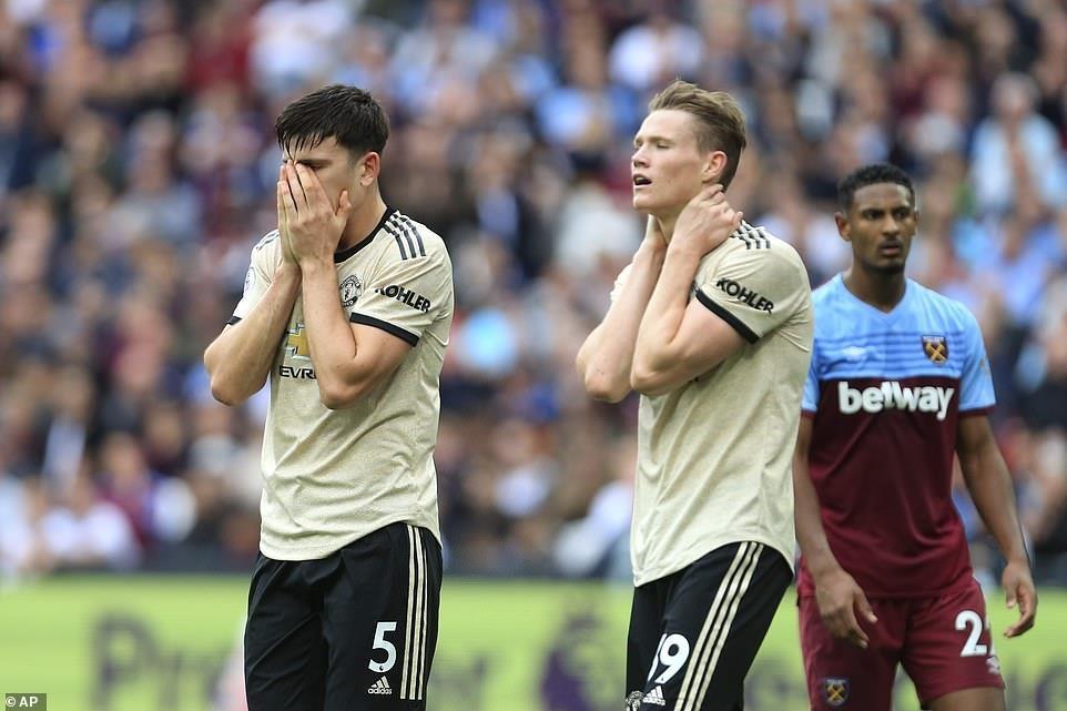 Man United thua West Ham 0-2 anh 1