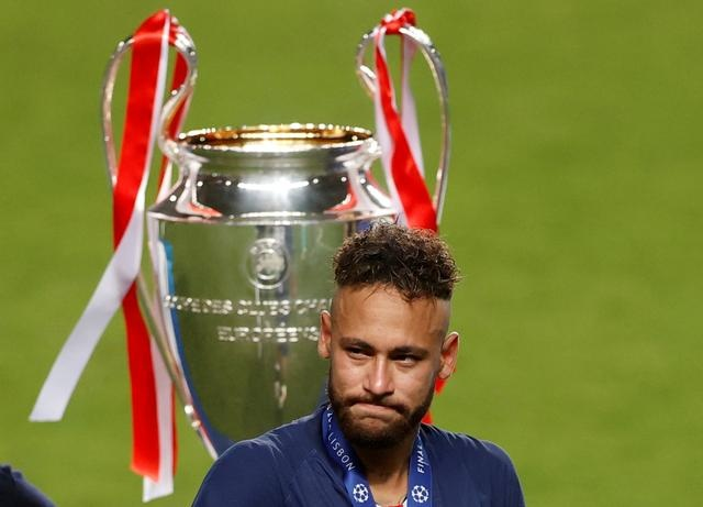 Neymar Champions League PSG anh 1