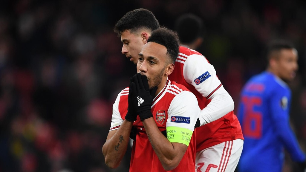 Aubameyang roi Arsenal anh 1