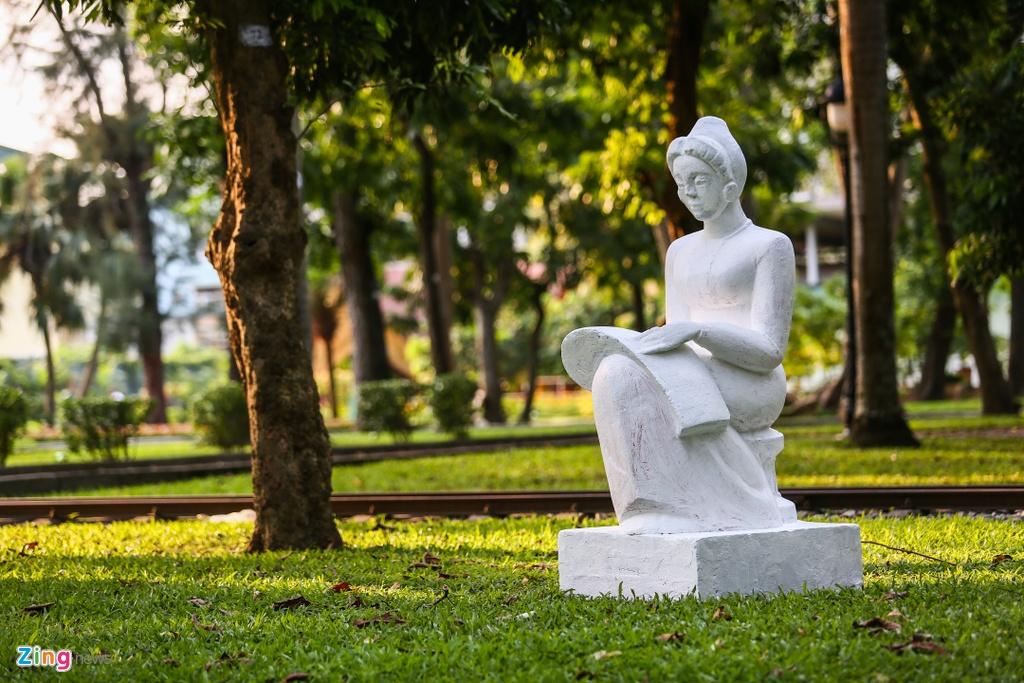 Tuong tai Cong vien Thong Nhat anh 7
