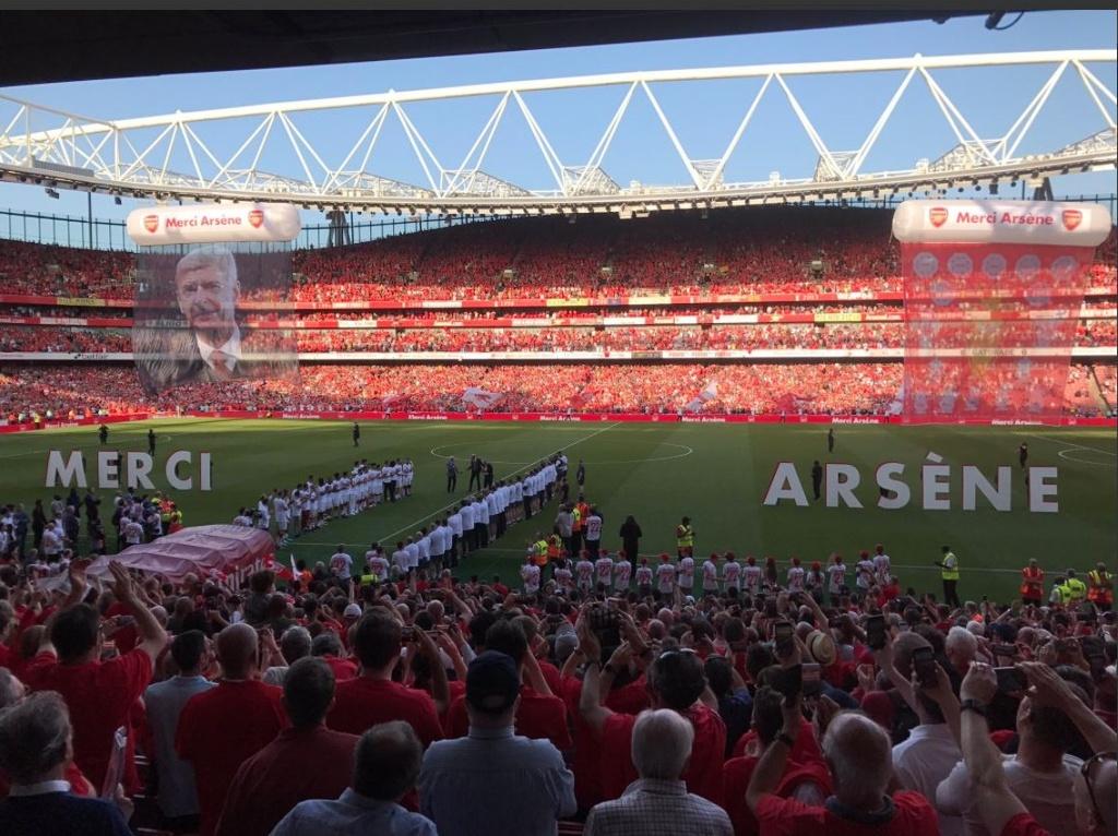 Arsene Wenger chinh thuc chia tay san Emirates anh 1