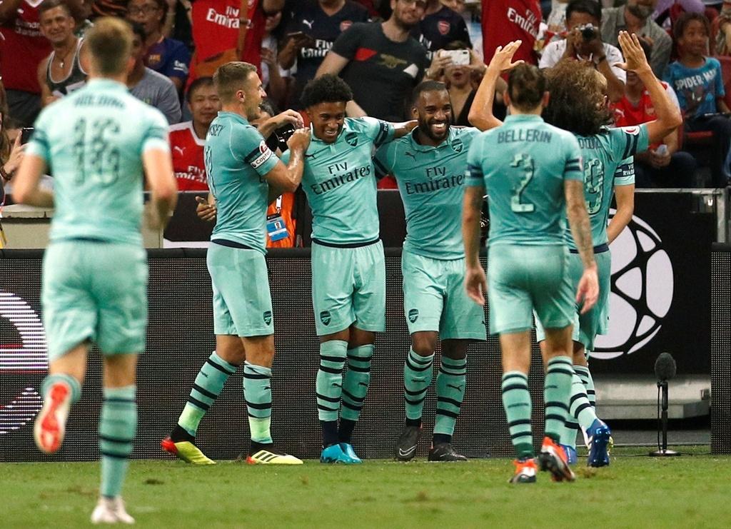 Arsenal va buoc chuyen minh tuyet voi duoi thoi Emery anh 1